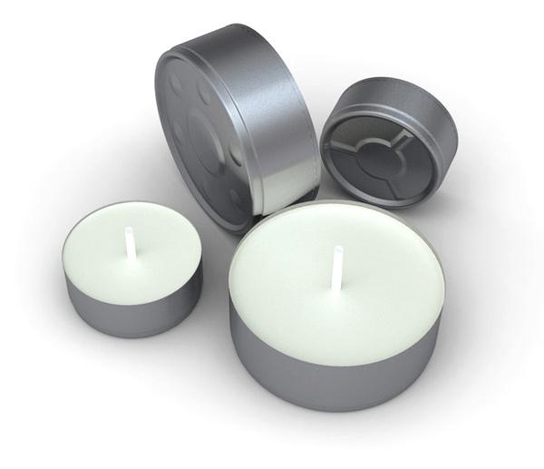 Čajové sviečky aromatizované TEE.SK
