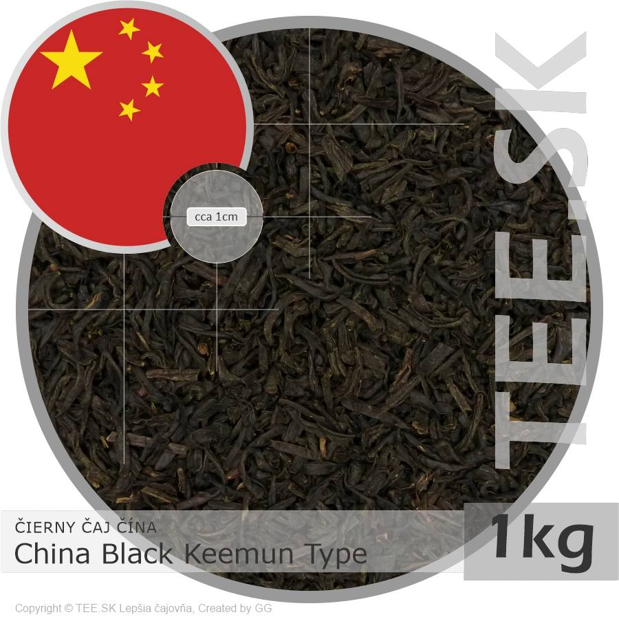 ČIERNY ČAJ ČÍNA – China Black Keemun Type (1kg)