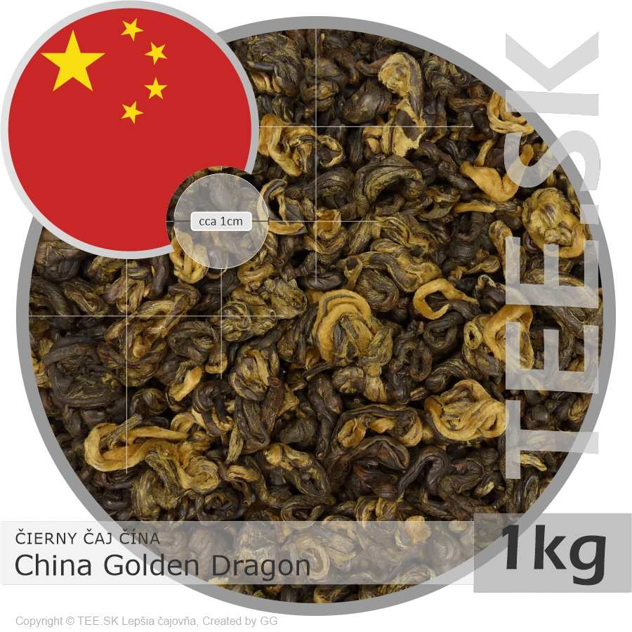 ČIERNY ČAJ ČÍNA – China Golden Dragon (1kg)