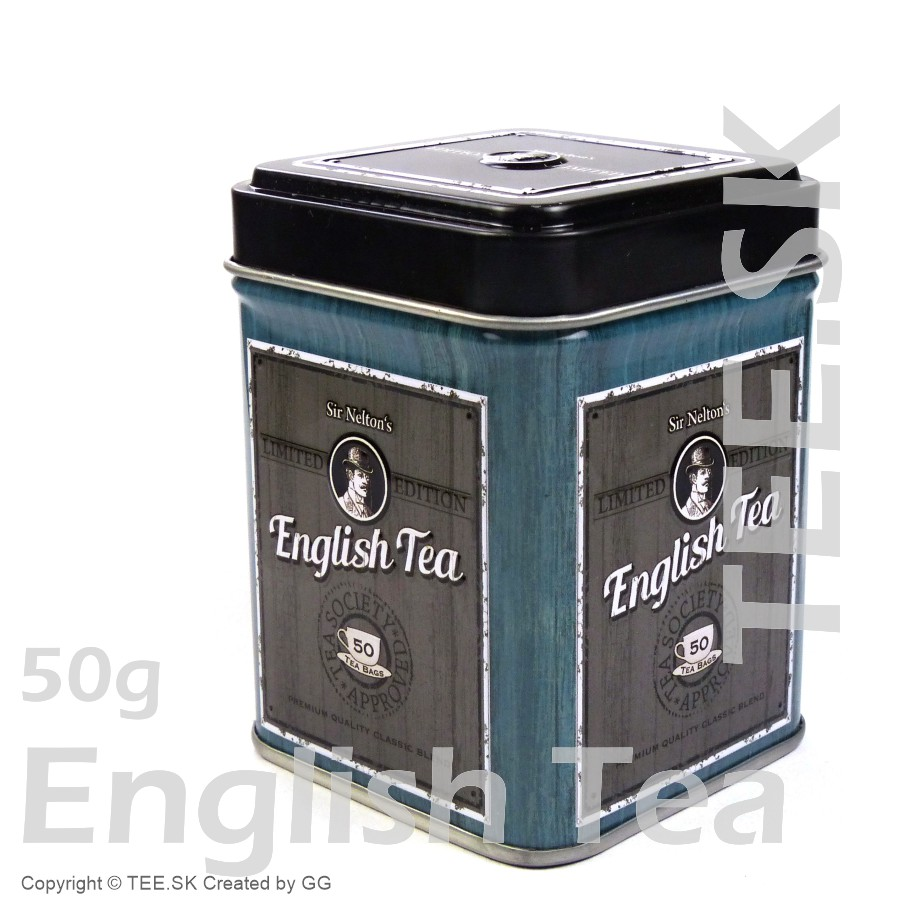 DÓZA English Tea modrá 50g