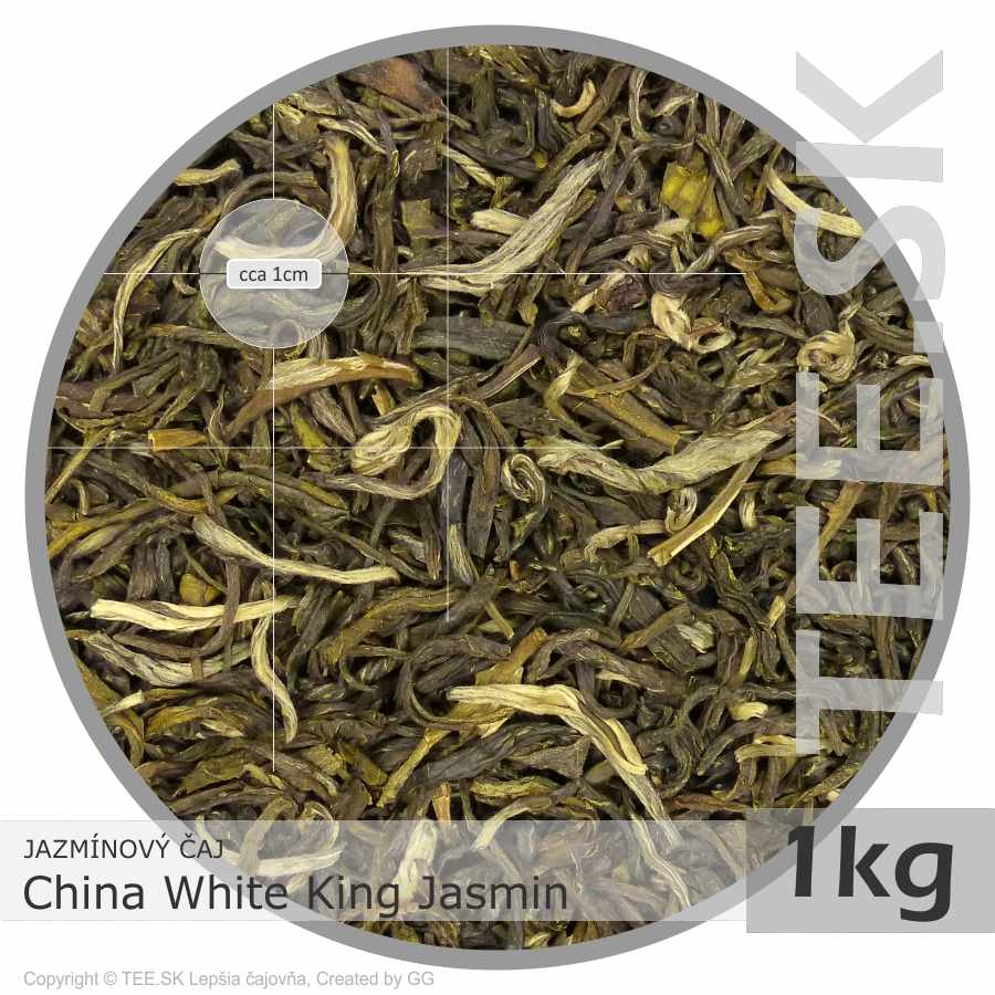 JAZMÍNOVÝ ČAJ China White King Jasmin (1kg)