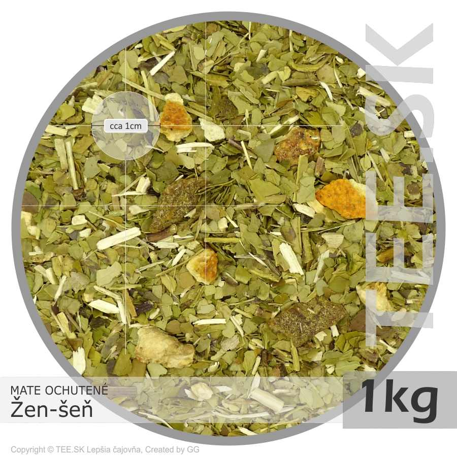 MATE so Žen-šeňom (1kg)