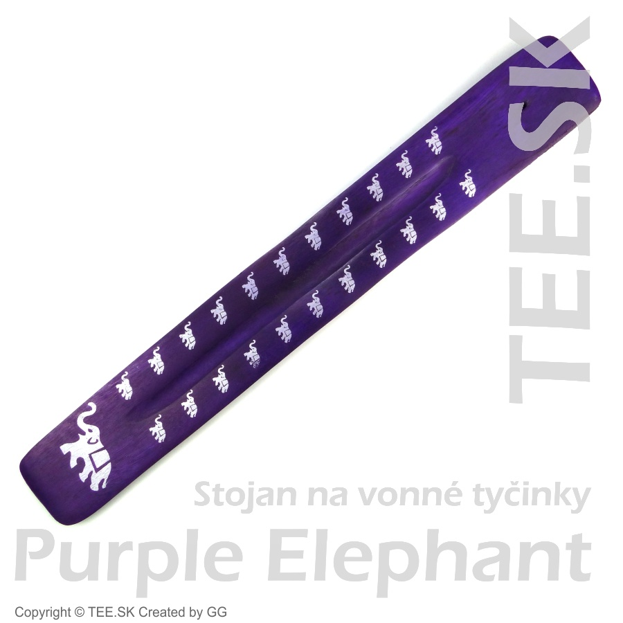 Stojan na tyčinky – Color Purple Elephant