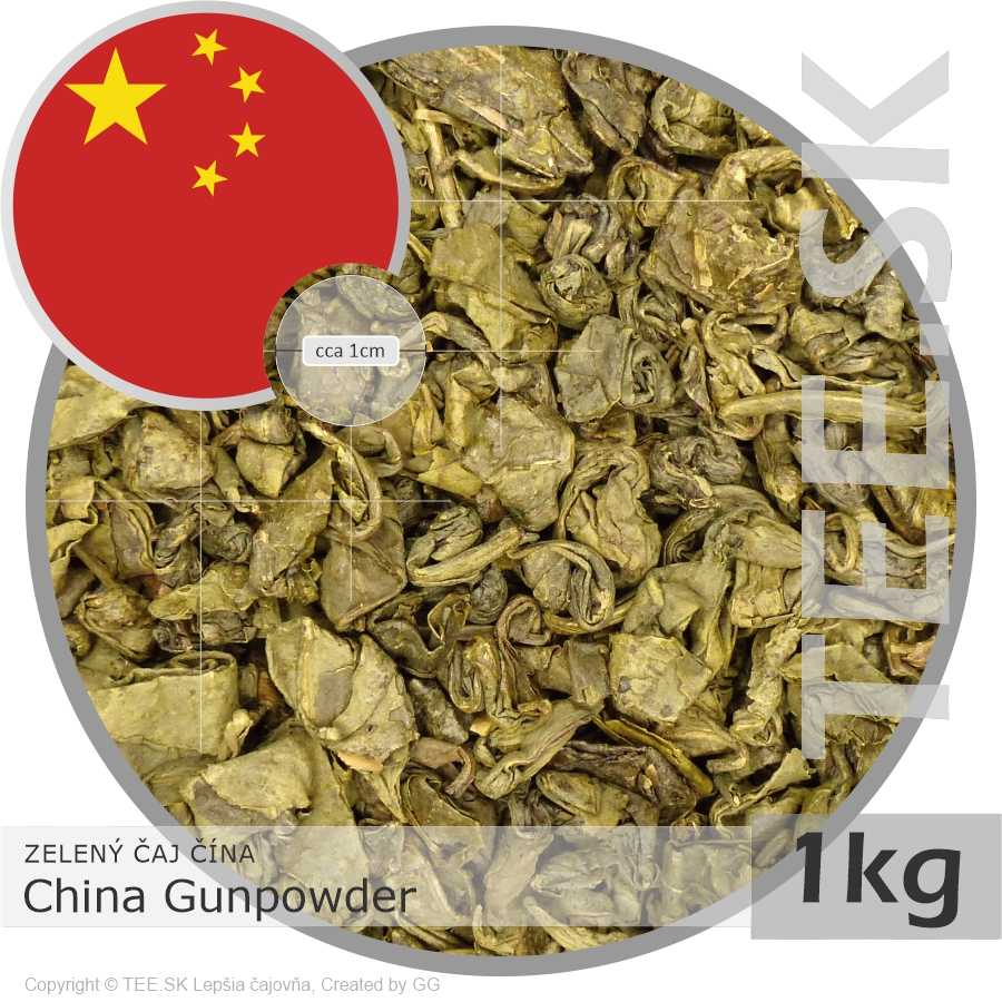 ZELENÝ ČAJ ČÍNA – China Gunpowder (1kg)