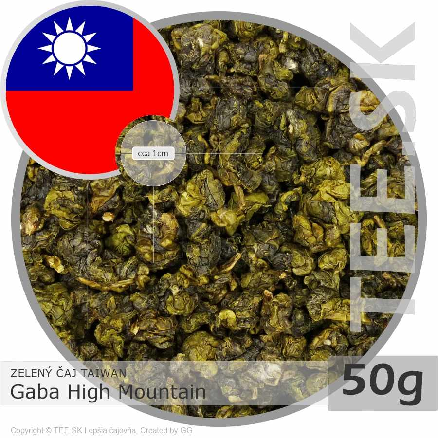 ZELENÝ ČAJ TAIWAN Gaba High Mountain (50g)