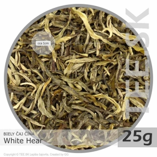 BIELY ČAJ China White Hear (25g)