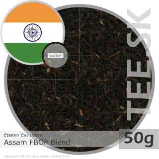 ČIERNY ČAJ INDIA – Assam FBOP Blend (50g)