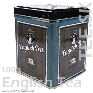 DÓZA English Tea modrá 100g