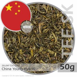 ZELENÝ ČAJ ČÍNA – China Young Hyson (50g)